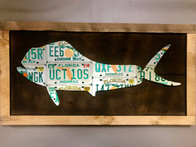 Florida Mahi Mahi License Plate Art