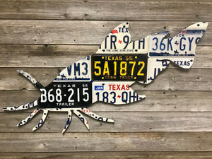 Texas Catfish License Plate Art