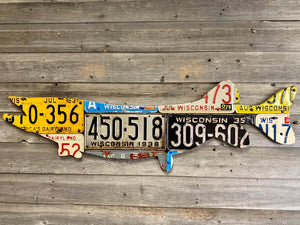 Wisconsin Pike/Muskie License Plate Art