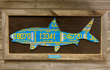Bahamas Bonefish License Plate Art