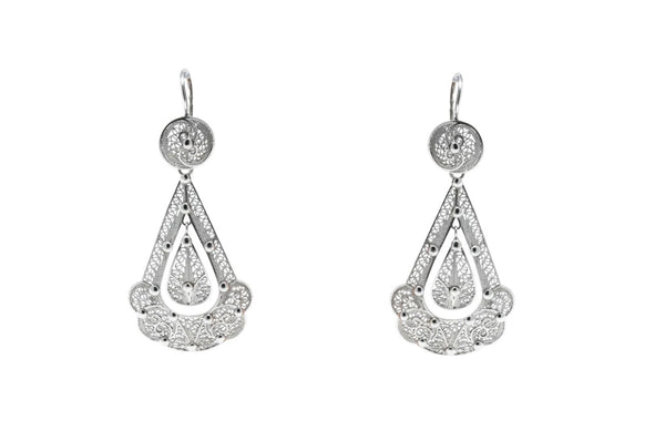 Princess Earrings Silver
