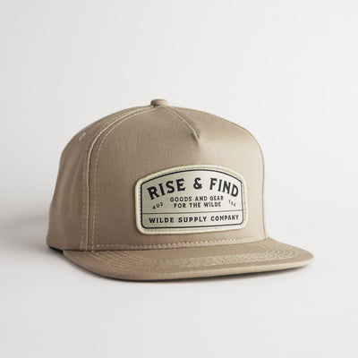The Early Riser Snapback - Sand