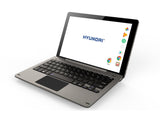 "Koral 10XK, 10"" Tablet w/ Metal Case and Keyboard - Hyundai Technology"
