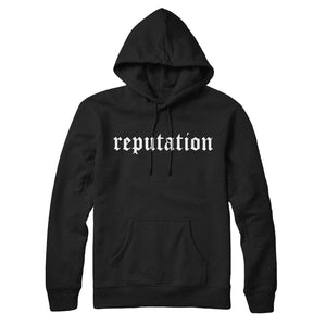 Reputation Old E Hoodie Black