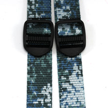 Digital Blue Camo Ski Pole Strap