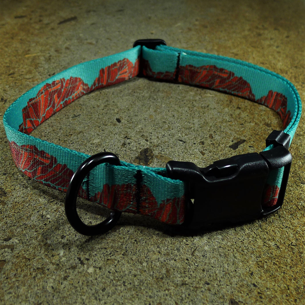 Canyon Walls Dog Collar