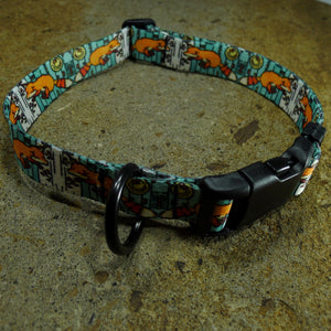 Dog Collar Fox Sarah Angst Bozeman Montana