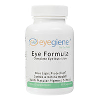EyeGiene Eye Supplement - Complete Eye Nutrition with blue light protection, vitamins for cornea and retina health and builds macular pigment density