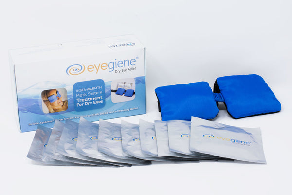 EyeGiene® Starter System (1 mask & 10 pairs of Warming wafers) - EIS-A12