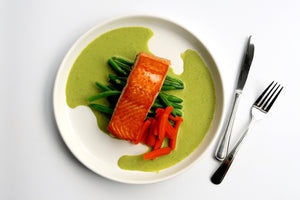 Green Curry Salmon [No Carb]