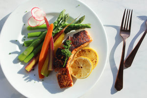 Soy Maple Salmon [No Carb]