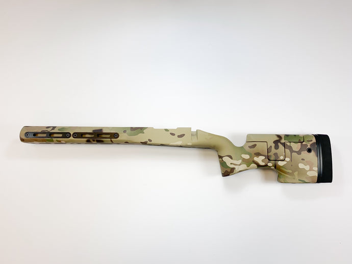 Ridgeback - LEFT HAND Remington 700 short action Multicam