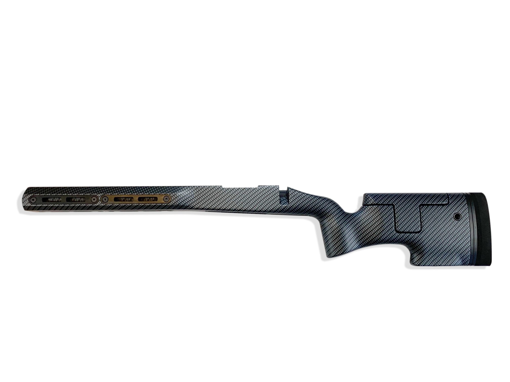 Ridgeback - LEFT HAND Remington 700 short action Carbon Fiber Hydro Dip