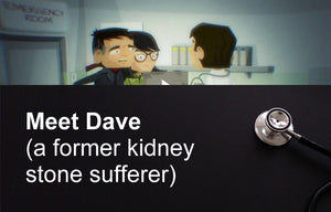 Meet Dave (a former kidney stone sufferer)