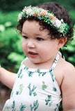Kids Greenery Halo - customizable