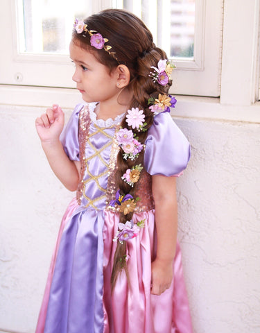 Rapunzel Tangled Inspired Flower Crown