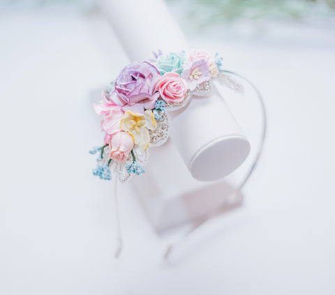 Spring Bling Side Headband