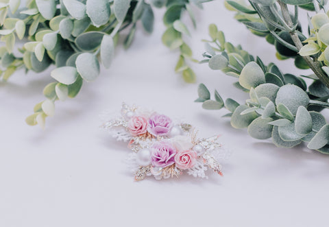 Lavender & Lace piggy clips