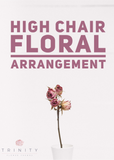 High Chair Garland Arrangement