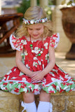 Mini Christmas Halo - M2M Sweet Bebe Clothing Dresses