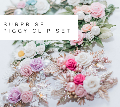 Surprise Piggy Clip Set