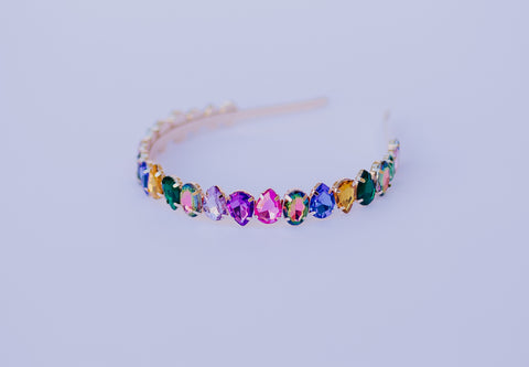 Oval Gem Headband RTS