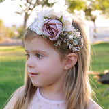 Hard Headband Flower Crown