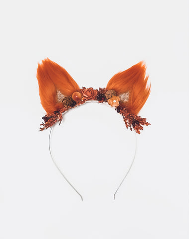 Fox Flower Crown