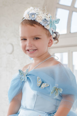 Cinderella Princess Flower Crown