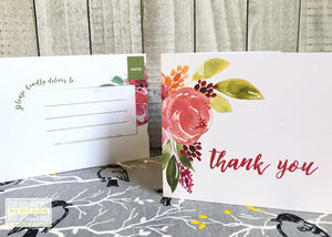 New In The Shop | Floral Folded Post Cards