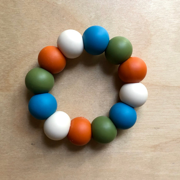 Fall Colors Teething Ring