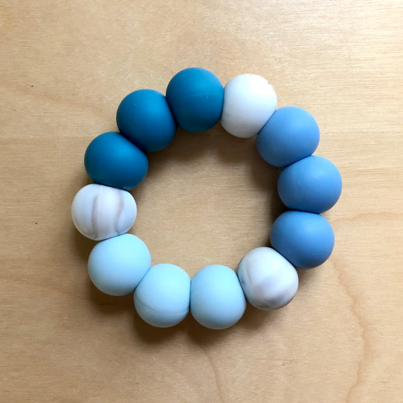 Blue Skies Teething Ring