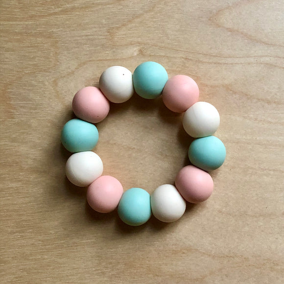 Spring Tulip Teething Ring