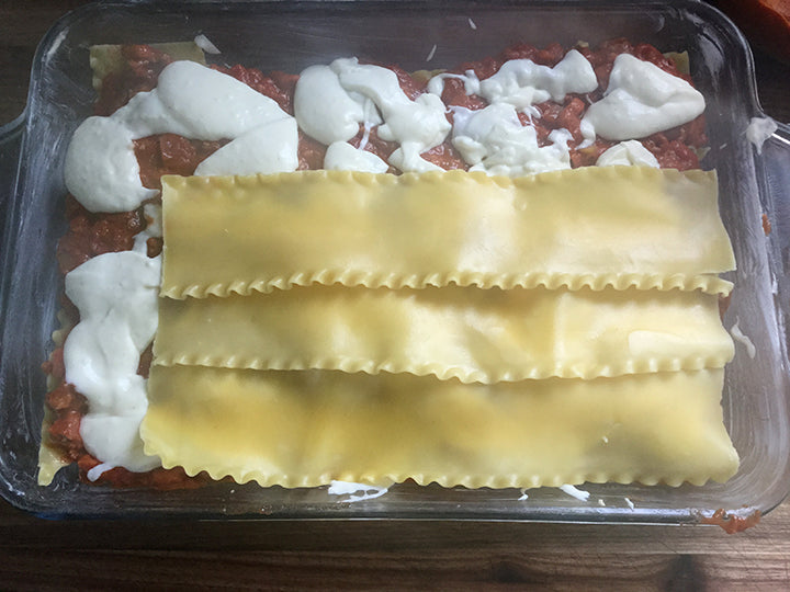 Traditional Bolognese Lasagne