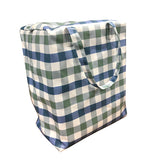 Windy Willow Farm Insulated Market Tote - Niagra Check