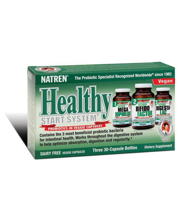 Natren's Healthy Start Probiotics (dairy free) 3 jars 30 days