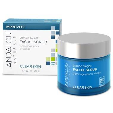 Andalou lemon sugar facial scrub (50 ml)