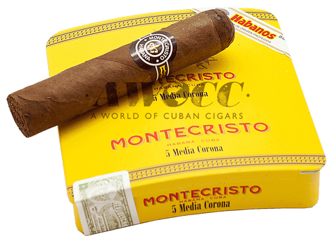 Montecristo 25 Media Corona (tins of 5)
