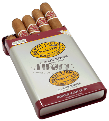 Romeo y Julieta 50 Club Kings (Tin box of 5)