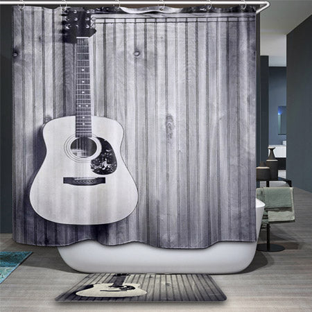 Music Inspired Shower Curtains - Music Love District Store