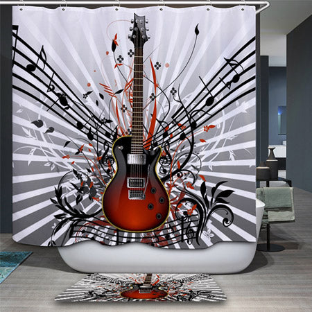Music Inspired Shower Curtains
