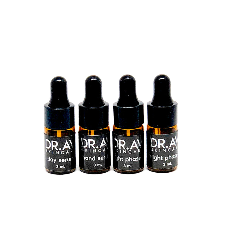 DR.AV OVERNIGHT REPLENISHING 4-STEP SET