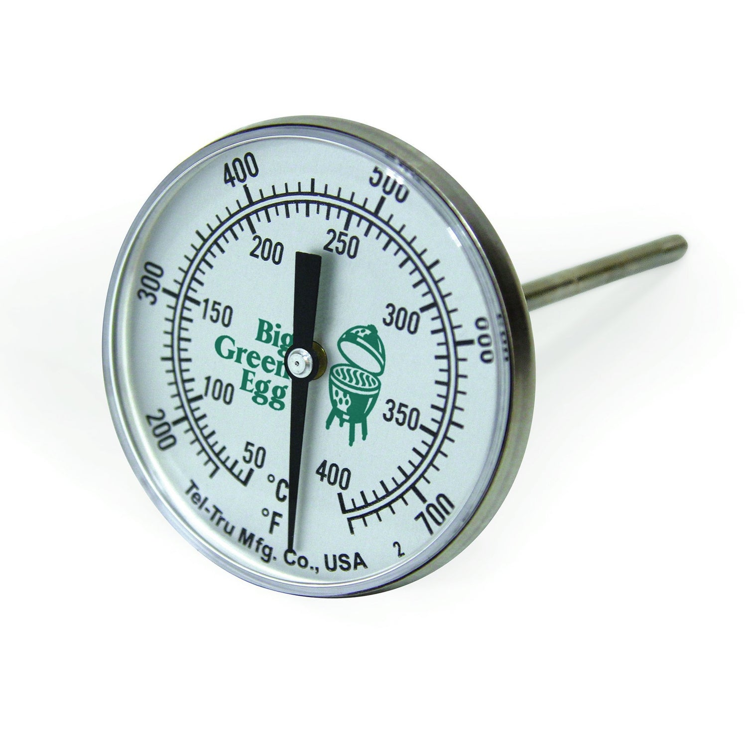 Big Green Egg Tel-Tru Large Temp Gauge