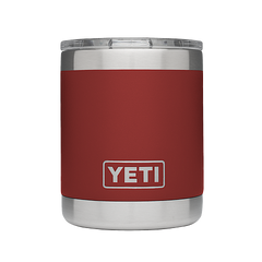 Yeti Rambler 10oz Lowball - Brick Red