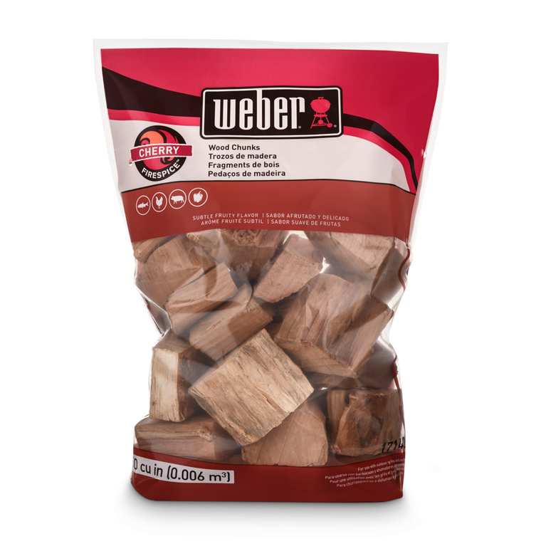 Weber Firespice Cherry Wood Chunks