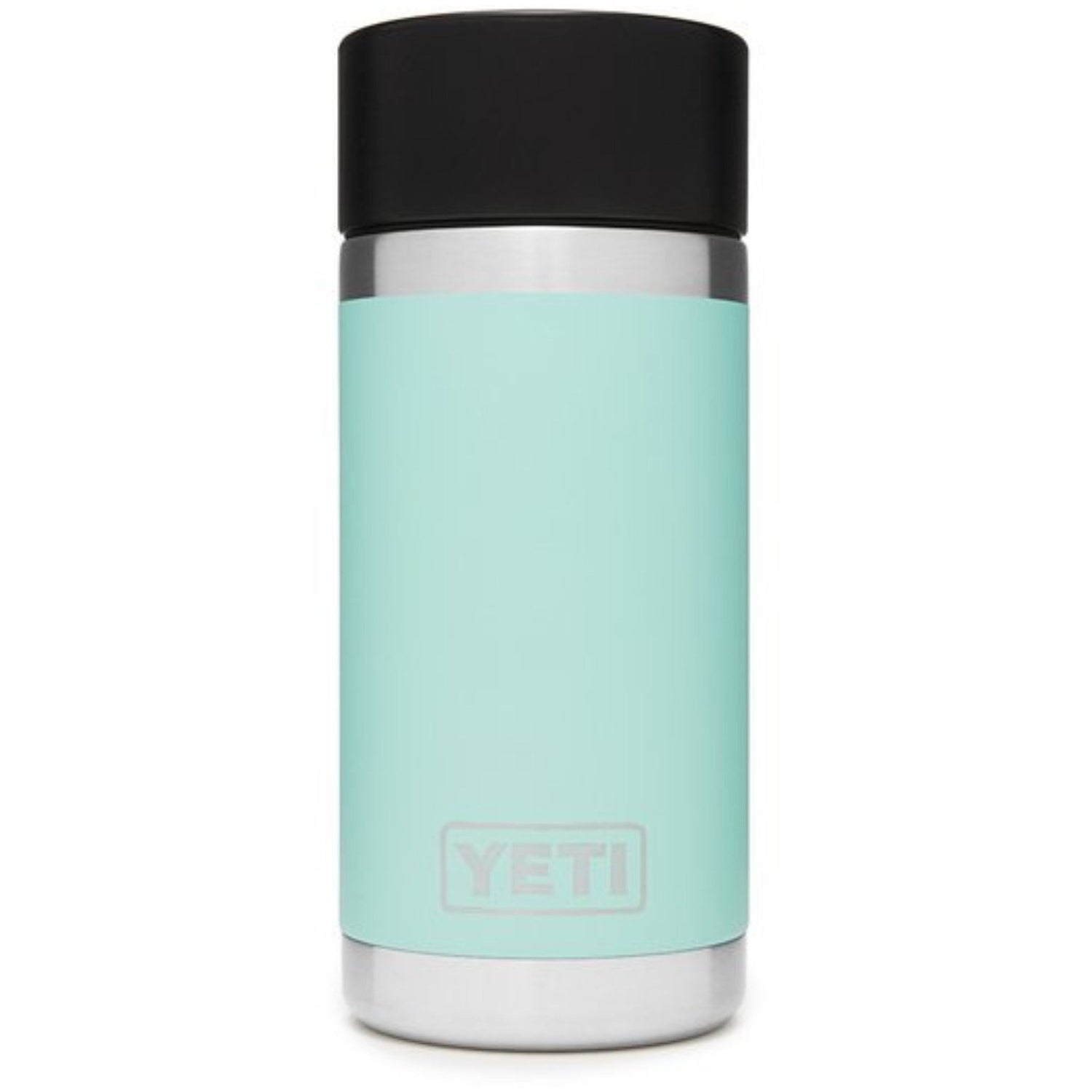Yeti Rambler 12oz / 355ml Bottle with Hot Shot Cap - Seafoam