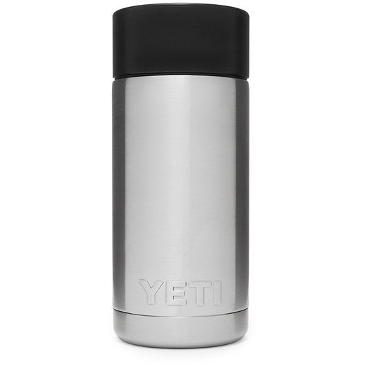Yeti Rambler 12oz / 355ml Bottle with Hot Shot Cap - Stainless Steel