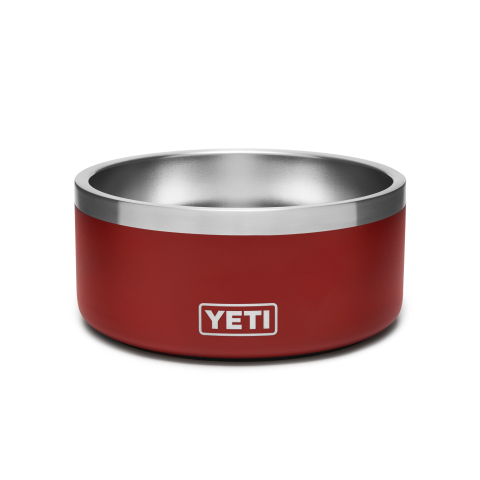 Yeti Boomer 4 Dog Bowl - Brick Red