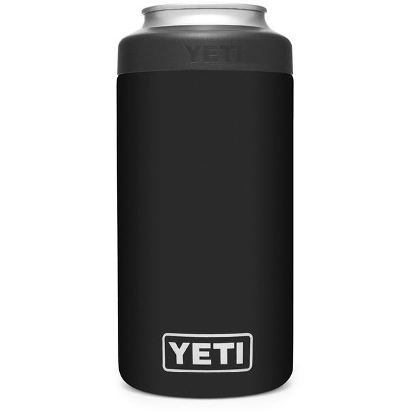 Yeti Rambler 473ml Colster 2.0 Tall Can Insulator - Black