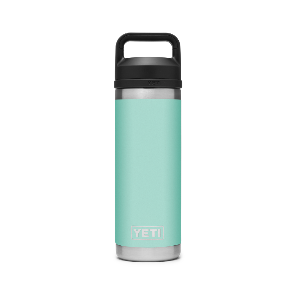Yeti Rambler 18oz / 532ml Bottle with Chug Cap - Seafoam